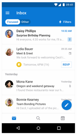 download hotmail for android phone